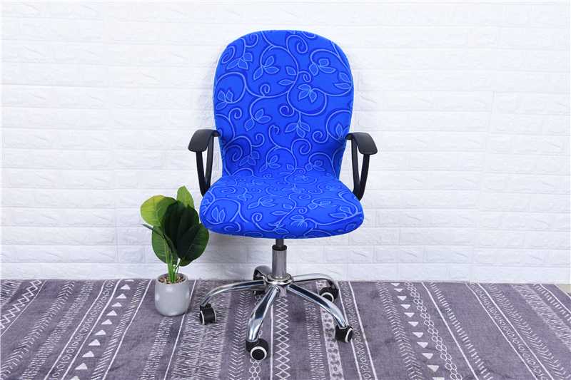 Elasticity Office Computer Chair Cover Side Arm Chair Cover Recouvre Chaise Stretch Rotating Lift Chair Cover Without Chair (23)