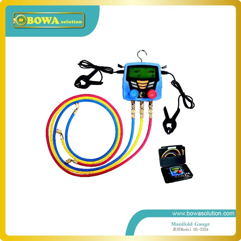 Wonderful Digital Refrigerant meters for various refrigerant with 60 charging hose