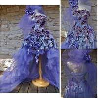 Freeshipping R 493 Vintage Costumes 1860s Civil War Ball Wedding Dress Gothic Lolita Dress Victorian Dresses