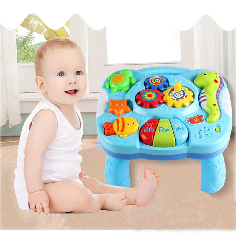 Refinement Music Table Toy Kids Learning Study Playing Toy Musical Instruments Education ...