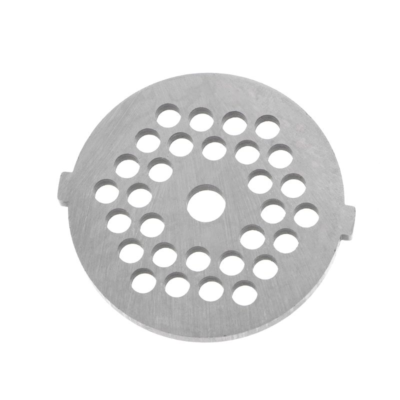 5mm Hole Meat Grinder Plate Net Knife Meat Grinder Parts Stainless Steel Meat Hole Plate