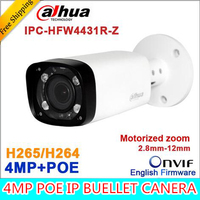 Original Dahua H 265 IPC HFW4431R Z 2 8 12mm Varifocal Motorized Lens Network 4MP IR