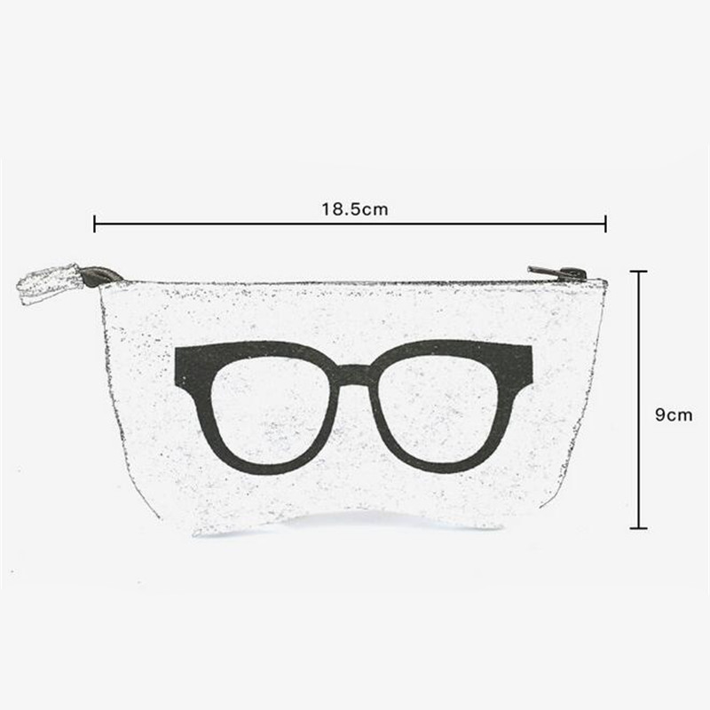 6fb2a6d509c2 2017 Colorful Sunglasses Case For Women Men Glasses Box Felt Sunglasses Bag  Eyeglasses cases For Men Eyewear Accessories YJ124-in Accessories from Men s  ...