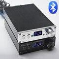 FX-Аудио D802C Версия Беспроводная Связь Bluetooth Вход USB/AUX/Оптический/Коаксиальный Чистый Цифровой Аудио Усилитель 24Bit/192 КГц 80 Вт + 80 Вт OLED