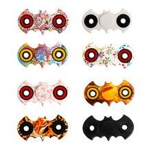 8 Цветов Ручной Счетчик Непоседа Бэтмен Стресс Куба Непоседа Tri-Spinner Spinner Непоседа Игрушки Взрослых Сосредоточиться Анти-Стресс Подарки # E