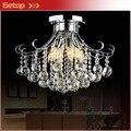 Лучшая цена  европейская хрустальная люстра  лампа для спальни  для потолка  ресторанное освещение  современный K9 хрустальный свет  светоди...
