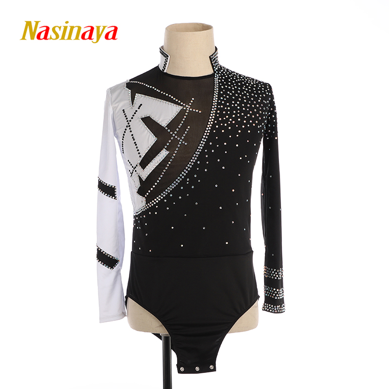 Nasinaya Boys Man Figure Skating Performance Clothing Customized Competition Ice Skating Leotard Kids Patinaje Gymnastics Dance