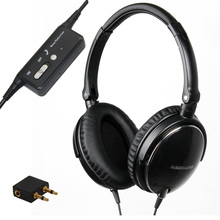 Active Noise Cancelling Headphones DJ Studio Over ear Headphone With Mic Super Bass Headband Active Noise Reduction Earphone