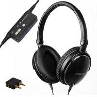 Active Noise Cancelling Headphones DJ Studio Over Ear Headphone With Mic Super Bass Headband Active Noise