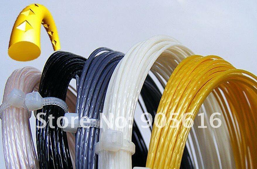 Free Shipping(6pcs/lot,12m/pcs)ALU Power Rough Tennis String(Polyester Strings)