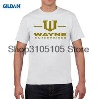 GILDIAN thiết kế áo t Wayne các doanh nghiệp logo THÀNH PHỐ GOTHAM BATMAN T-Shirt