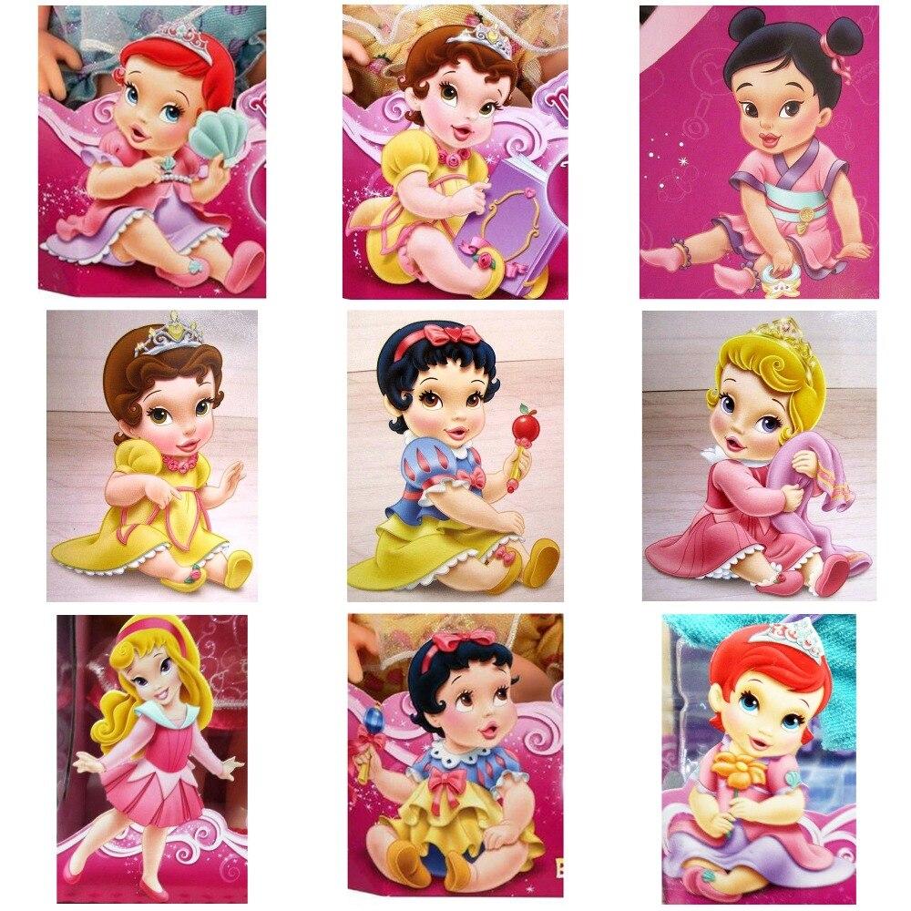 5D DIY Diamond painting Cartoon Princess Full Square Drill Mosaic cross stitch kits handmade embroider Crafts for child gift-BK