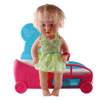 6 Piece /set Baby Doll Play DIY Educational Toys Boy And Girl Simulation Home Care Box Children's Gift