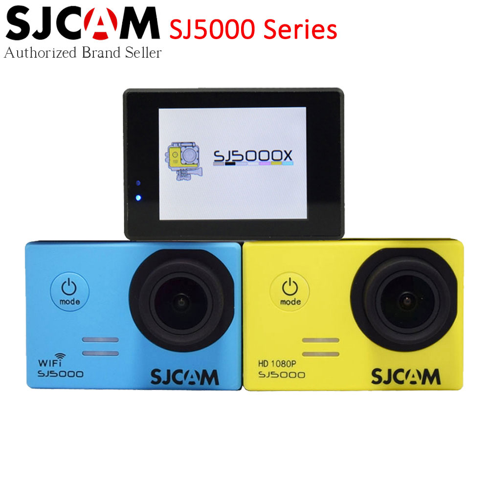 Original SJCAM SJ5000 Series Action Video Camera SJ5000X 4K Elite / SJ5000 Wifi / SJ5000 Basic Mini Outdoor Sport Camcorder DV