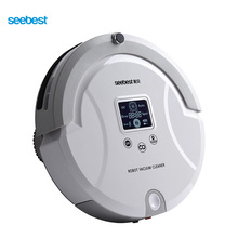 Seebest C561 WALL-E 1.0 Robótico Automático Aspirador con Pantalla LCD, dos Cepillo Del Balanceo y Vacío, Limpiador de la alfombra