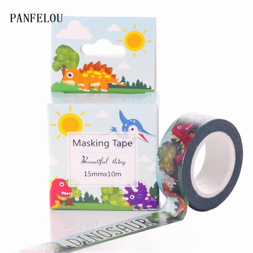 Dinosaur Masking Tapes