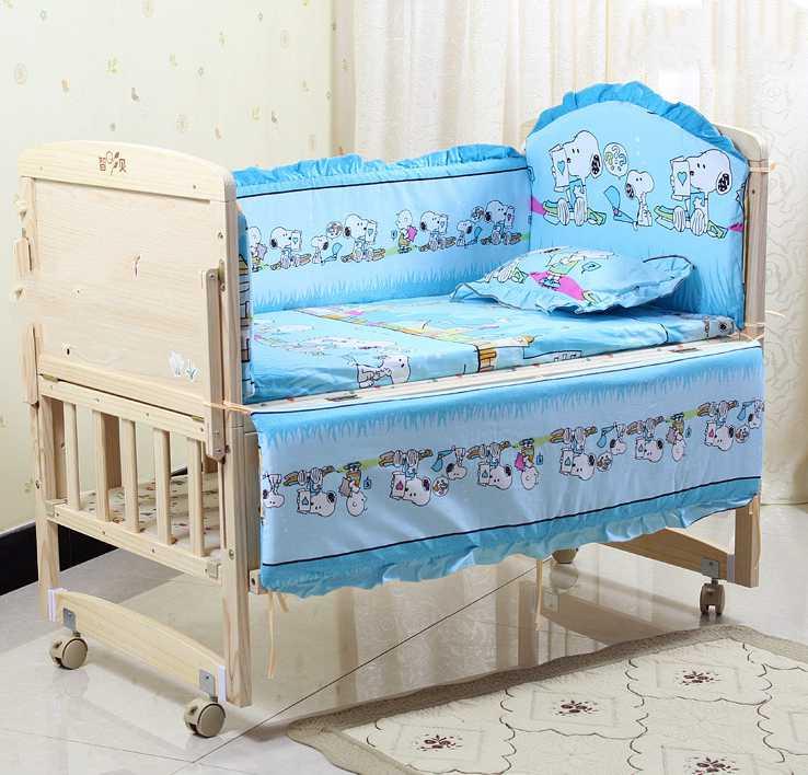 unids recin nacido habitacin del beb juego de cama cuna juego de cama