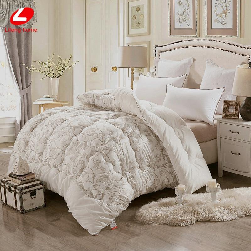 winter comforter short plush plush fabric bed comforter soft warm quilted quilted quilts 3. Black Bedroom Furniture Sets. Home Design Ideas