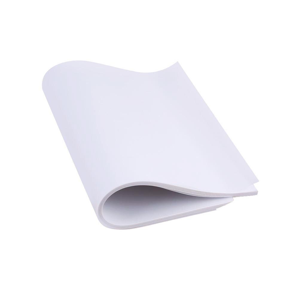 100 шт А4 полупрозрачная калька копировальная переводная печатная бумага для рисования серная кислота бумага для инженерного рисования/печати - Цвет: Прозрачный