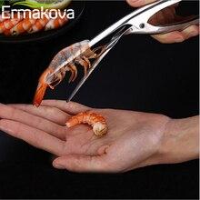 Ермакова Креветочный нож для креветок из нержавеющей стали креветка Deveiner устройство для очистки Креативные кухонные инструменты для приготовления морепродуктов Кухонные гаджеты