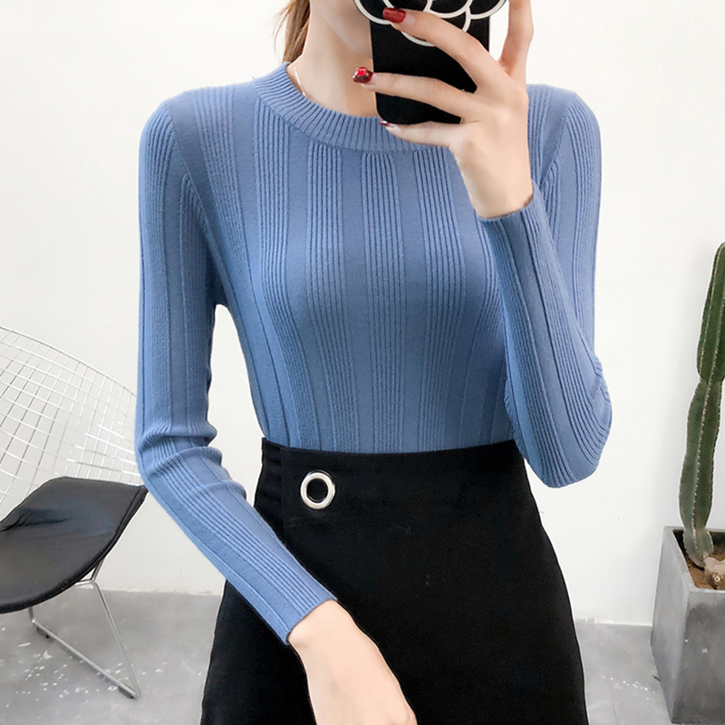Shintimes Sweater Women Pull Hiver Femme 2018 Winter Clothes Womens Fashion Woman Sweater Knitting Pullovers Korean Sueter Mujer in Pullovers from Women 39 s Clothing
