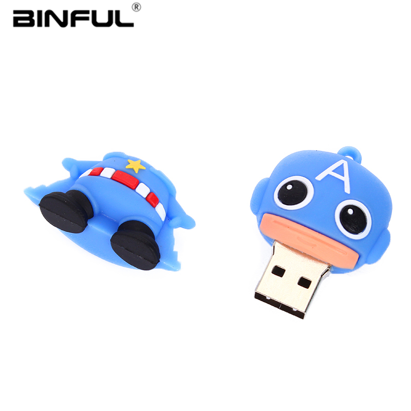 Image 5 - Captain America Usb Flash Drive 2.0 32gb High Speed Pen Drive 4GB 8GB 16GB 32GB 64GB Pendrive 128GB Usb Stick Best Gift U Disk-in USB Flash Drives from Computer & Office