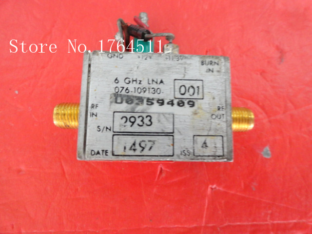 [BELLA] HARRIS 076-109130 6GHz 11.3-12V SMA Amplifier Supply