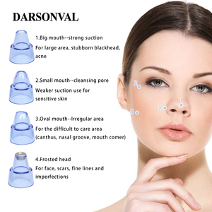 Image 2 - DARSONVAL 여드름 제거제 도구 여드름 모공 청소기 얼굴 관리 아름다움 여드름 진공 청소기 검은 점 여드름 리무버 도구