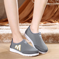 Size 35-41 Summer Women Breathable Casual Shoes Woman Slip On Flats Soft Ankle Shoes Hot Sale Fashion Loafers