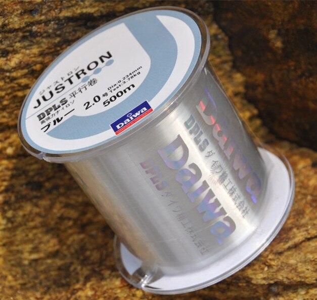 Лидер продаж высокое качество Multifilament 500 м PESCA Фтороуглерод Плетеный Рыбалка линии углерода Волокно сильный нейлон рыбы линии ...