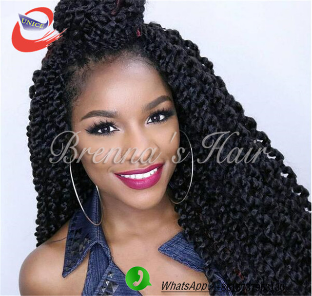 Crochet Box Braids Ombre : Twist Crochet Braids havana mambo twist crochet braids Ombre color box ...