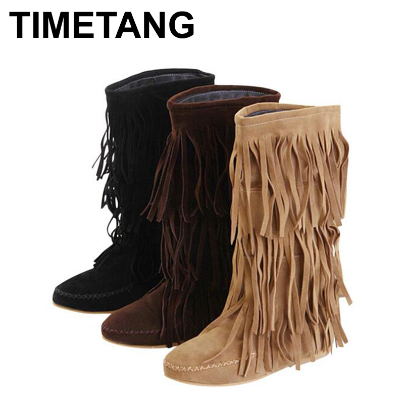 Online Get Cheap Heeled Fringe Boots -Aliexpress.com | Alibaba Group