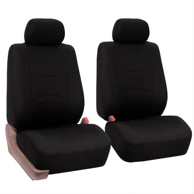 2 front seats Universal car seat cover for Suzuki Jimny Grand Vitara Kizashi Swift Alto SX4 Wagon R Palette Stingray accessories