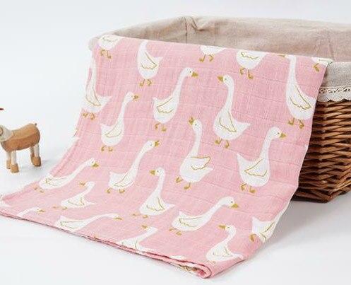 Новинка; хлопковое детское одеяло для новорожденных; мягкое детское одеяло из органического хлопка; муслиновое Пеленальное Одеяло для кормления; тканевое полотенце; шарф; детские вещи - Цвет: 29