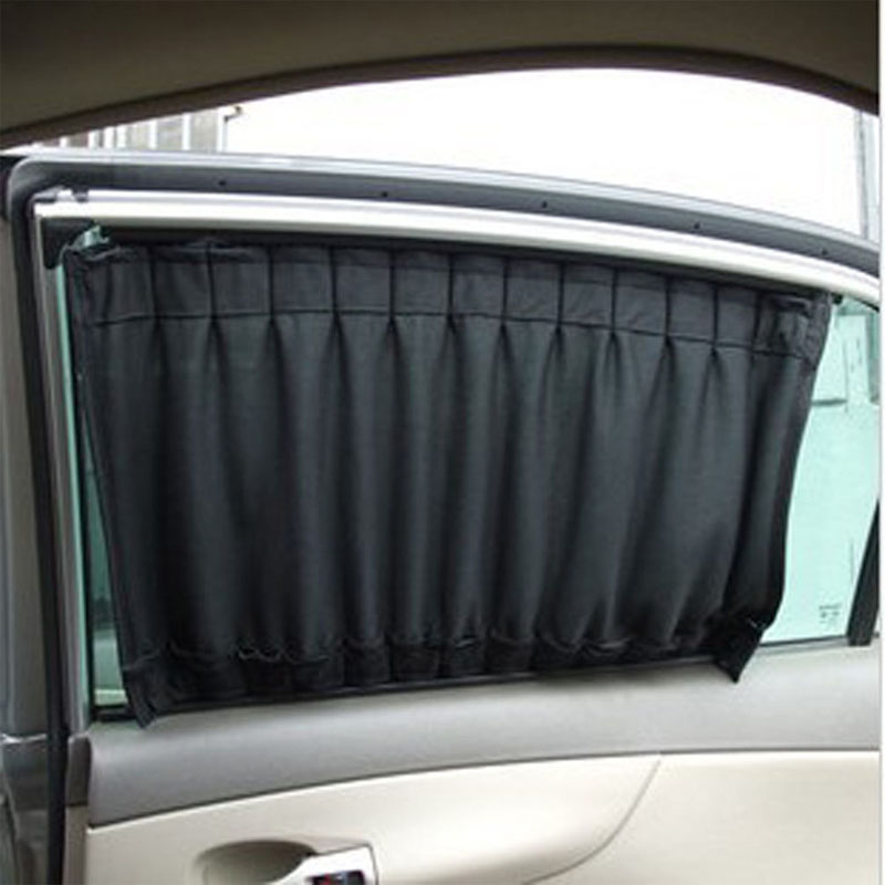 2016 high quality 2 pcs 50cmx45cm cloth fabric car uv protection windscreen sunshade curtain car. Black Bedroom Furniture Sets. Home Design Ideas