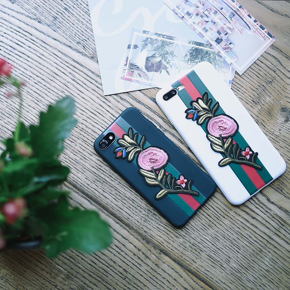 For Sale Half Wrapped Case Pop Fitted Cases Mobile Phone Housings Navy Pro Tools Iphone 6g 6p X 6 6sp 7 7plus Ultrathin Soft Tpu 8 8p Embroidery