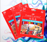 Faber Castell Color Pencils 12 24 36 48 Classic Oily Colored Pencils Color Art Set Drawing