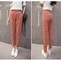 Women Harem Pants Cotton Linen Pants Spring Summer Trousers Autumn Harajuku Pant Linen Trousers Green Pencil Pant