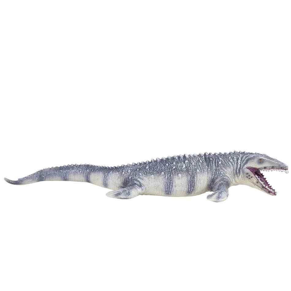 Jurassic большой Mosasaurus динозавр игрушка мягкая ПВХ Фигурки ручная роспись животных Модель Коллекция динозавр игрушки для детей
