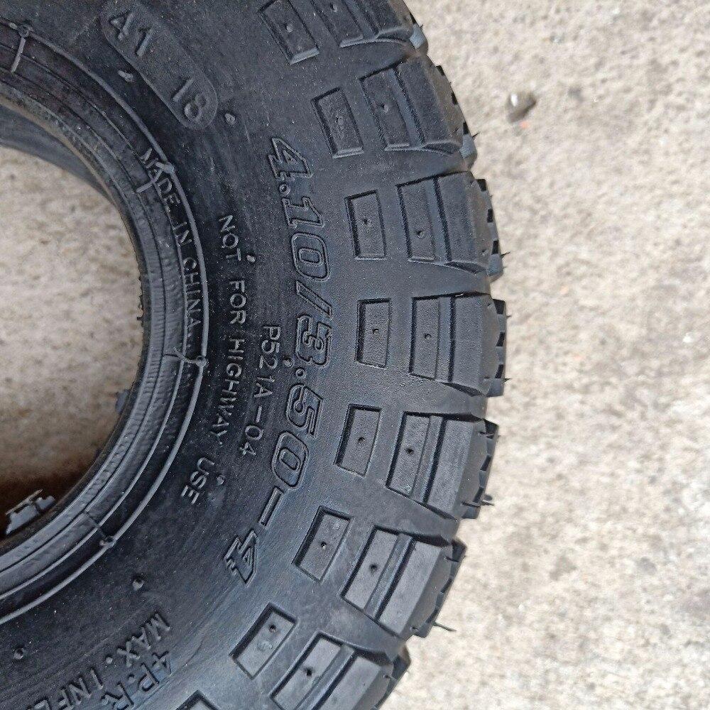 Tyre /& Innertube 4.10-4 Knobbly Off Road Tread Mini Moto Quad Bike ATV 4 Inch