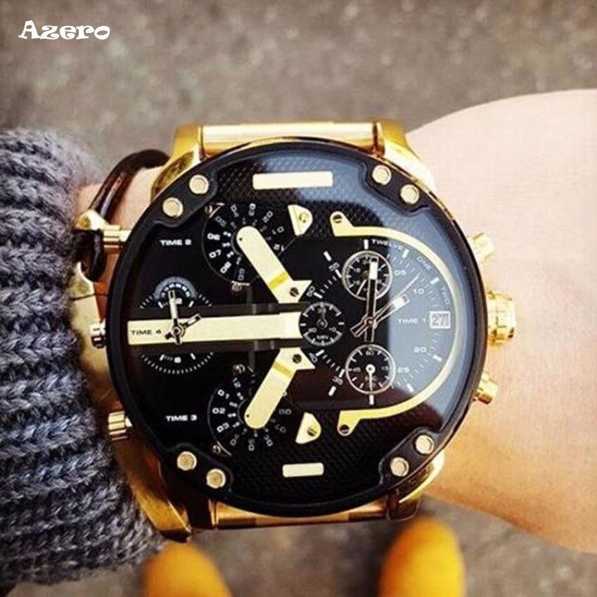 Men's Fashion Luxury Watch Stainless Steel Sport Analog Quartz Mens Wristwatches Relogio Masculino Watch Men Reloj Hombre Bayan