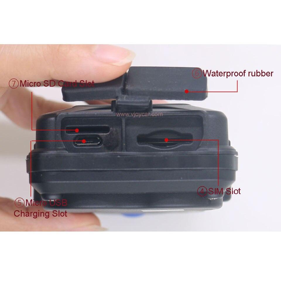 VJOYCAR TK05G Kinija Geriausi GPS sekimo įrenginiai 3G 4G SD - Automobilių Elektronika - Nuotrauka 3