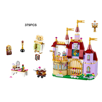 Fairy Tale Princess Belle S Enchanted Castle Building Block Beauty And The Beast Minifigures Compatible Lego41067