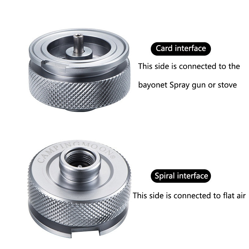 Image 5 - Hiking Camping Aluminum Alloy Gas Stove Adaptor Split Type Furnace Converter Connector Auto off Adapters Shipping USA S-in Outdoor Stoves from Sports & Entertainment