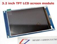 Бесплатная доставка! 3,2 дюймов TFT ЖК-дисплей модуль экрана со сверхвысоким разрешением Ultra HD, 320X480 для Arduino MEGA 2560 R3 доска