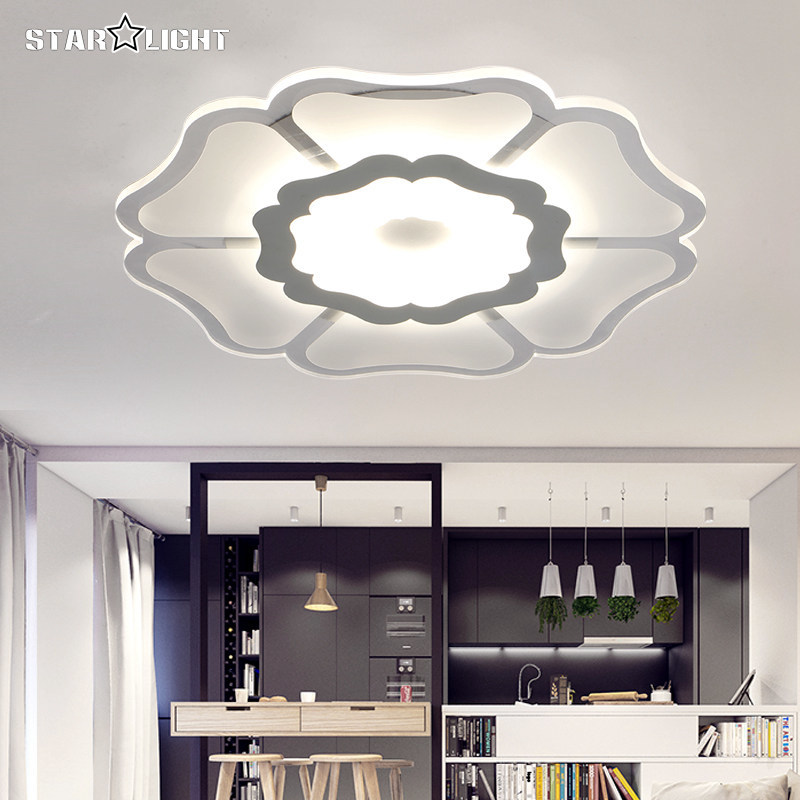 Modern LED Ceiling Chandelier Fixtures Living Room Lamp Acrylic New Energy Efficient Home Luxury Decor Lighting In Lights From