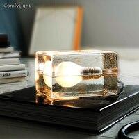 Eye Care Led Table Lamp bedroom LED glass Desk Lamp night light nordic design Led luminaria Reading Light home decor Lighting