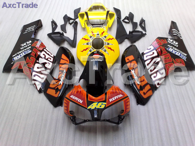 High Quality ABS Plastic For Honda CBR1000RR CBR1000 CBR 1000 2004 2005 04 05 Moto Custom Made Motorcycle Fairing Kit Bodywork