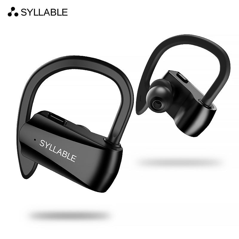 Sílaba D15 bluetooth V5.0 auricular reducción de ruido bluetooth sílaba auriculares para teléfono móvil inalámbrico deportes auricular bajo