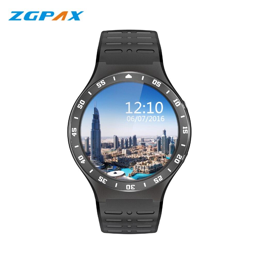 "imágenes para S99A 3G Smartwatch ZGPAX Teléfono 1.39 ""Android 5.1 MTK6580 Quad A Core 1.0 GHz 8G ROM 2.0MP Cámara WiFi Bluetooth Reloj Inteligente PK KW88"